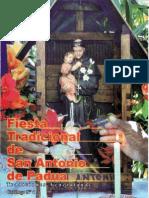 Fiesta tradicional de la Fiesta de San Antonio de Padua