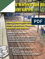 Abschied Von Der Linde - 150627_Lesung GZ Riesbach