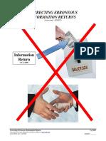 Correcting Erroneous Information Returns, Form #04.001