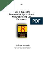 8 Types de Personnalite