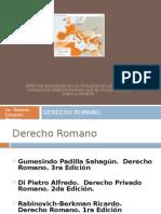 Aspectos Relevantes de Los Prologos de Los Libros de Derecho Romano