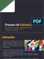 procesos de extrusion