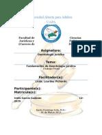 Fundamentos de Deontología Jurídica (Trabajo Final)