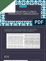 Conversatorio Clínico Terapeútico Cardiológico
