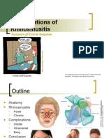 komplikasi rhinosinusitis