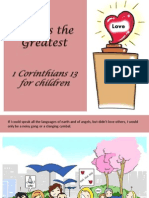 Love is the Greatest - 1 Corinthians 13 for Children