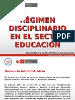 Régimen Disciplinario en el Sector Educación.ppt