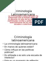 Criminología Latinoamericana
