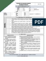 Plan Anual de Informática parta 1ero BACH