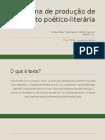 Oficina de Produção de Texto Poético-literária