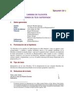LA función de la filosofía en América Latina - Eduardo Murillo
