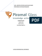Strategic Management (Piramal Glass Limited)