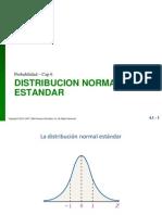 Distribucion Normal Estandar