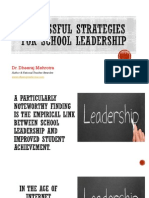 School Leadership Skills