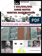 STAT 231 Course Notes Winter