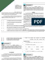 Controles acumulativos de comprension lectora - 4° - 2015