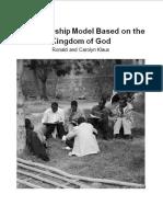 A Discipleship Model