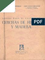 Ábacos Para El Cálculo de Cerchas de Hierro y Madera-Enrique Cobeño Gonzalez