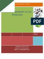 Inventario Software en Las Netbooks 2015