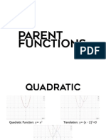 Parent Functions PDF