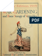 War Gardening and Home Storage of Vegetables (Victory Edition 1919)