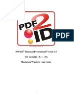 User Guide PDF to INDD