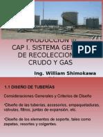 Sistema Recoleccion Crudo y Gas - Diseño Tuberias