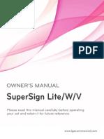 LG SuperSign Lite