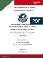 Cepeda Lorena Estudio Pre-factibilidad Implementacion Cadena Comidas Rapidas Pollo Lima Norte