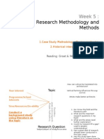 Lecture Research Methodology