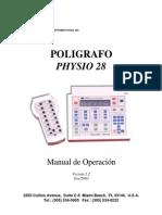 Physio 28 Manual en Español Poligráfo.