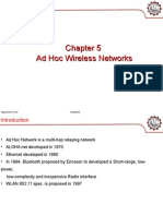 Chapter 5 Ad Hoc Wireless