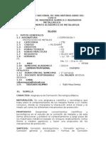 Silabo Corrosion y Proteccion 2015-i