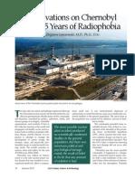 Observations Chernobyl