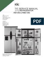 Service Manual, Domestic RM1350