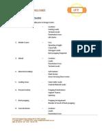Construction Information Checklist
