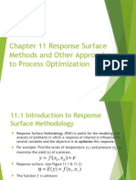 response surface methods