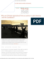 Why Are Chinese Agricultural Firms So Active in Latin America - R Evan Ellis