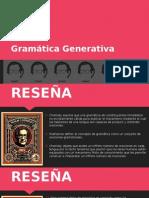 Gramática Generativa