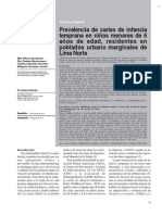 Lectura Dx. de Caries 2015-2