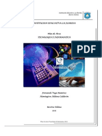 Plan de Area Tecnologia e Informatica 2011