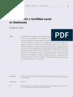 Estratificacion y Movilidad Social en Guatemala