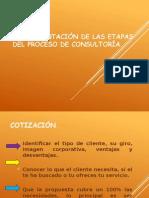 1.4 Documentacion de las etapas del proceso de consultoria