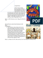 emergent literacy book analysis