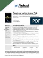 Receta Para El Contenido Web English Es 14498