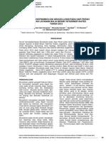 Survei Seroepidemiologi Brucellosis Pada Sapi Perah Di Wilayah Layanan Balai Besar Veteriner Wates Tahun 2012