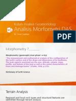 Kuliah Analisis Morfometri