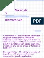 Dental Materials 1