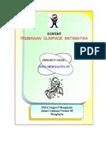 Draft Diktat Pembinaan Olimpiade Matematika SMA N 5 Bengkulu Versi 3