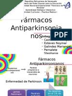 Farmacos Antiparkinsonianos.